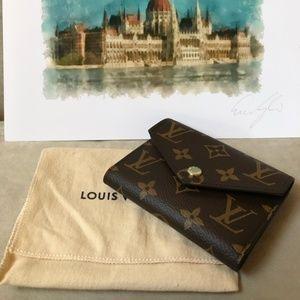 Auth Louis Vuitton Victorine Wallet
